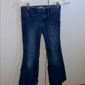 Gap Kids 1969 Girl's Bell Bottom Jeans (Size 10)